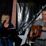 The Flying Ritas - Susanne Tryphena and Dale Lot - Performing at the BC Songwriters' Showcase - BCSongwriters.ca