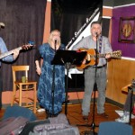 The Flying Ritas - Will Firstbrook, Susanne Tryphena, Dale Lot and Laurie Firstbrook - Performing at the BC Songwriters' Showcase - BCSongwriters.ca