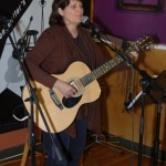 Patricia Dunphy, performing at the BC Songwriters' Open Mic - BCSongwriters.ca