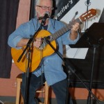 Bruce w. Rudolph, performing at the BC Songwriters' Open Mic - BCSongwriters.ca