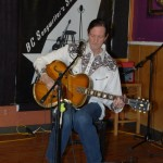 John Haynes, of Lotus Band, performing at the BC Songwriters' Showcase - BCSongwriters.ca