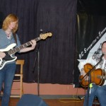 John Haynes, accompanied by Terri Breeze, both of Lotus Band, performing at the BC Songwriters' Showcase - BCSongwriters.ca