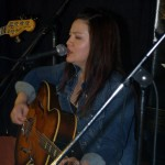 Feona Lim, of Lotus Band, performing at the BC Songwriters' Showcase - BCSongwriters.ca