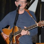 Poul Bech performing at the BC Songwriters' Open Mic - BCSongwriters.ca