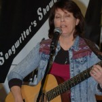 Tricia Dunphy performing at the BC Songwriters' Open Mic - BCSongwriters.ca