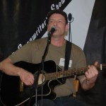 Troy Godfrey performing at the BC Songwriters' Open Mic - BCSongwriters.ca