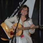 Donna Armstrong performing at the BC Songwriters' Open Mic - BCSongwriters.ca