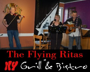 The Flying Ritas, performing at the BC Songwriters' Showcase at NY Grill & Bistro - BCSongwriters.ca