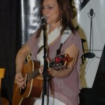Donna Armstrong, performing at the BCSSA's Songwriter Showcase - BCSongwriters.ca