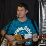 Patrick McWilliams performing at the BC Songwriters' Open Mic - BCSongwriters.ca
