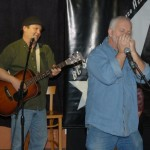 Earl Travis Taylor, accompanied by Bruce W. Rudolph, performing at the BC Songwriters' Open Mic — BCSongwriters.ca