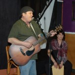 Earl Travis Taylor, accompanied by Patricia Dunphy, performing at the BC Songwriters' Open Mic — BCSongwriters.ca