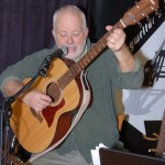 Bruce W. Rudolph performing at the BC Songwriters' Showcase - BCSongwriters.ca