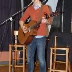 Josh Bogert, performing his great original songs, at the BC Songwriters' Open Mic - BCSongwriters.ca