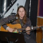 Kevin Wellman performing at the BC Songwriters' Open Mic - BCSongwriters.ca