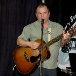 Earl Travis Taylor performing at the BC Songwriters' Open Mic - BCSongwriters.ca