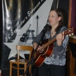 Lisa Kuz playing the BC Songwriters' Open Mic - BCSongwriters.ca