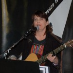 Tricia Dunphy playing the BC Songwriters' Open Mic - BCSongwriters.ca