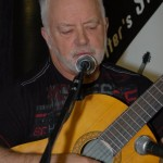 Bruce W. Rudolph performing at the BC Songwriters' Open Mic - BCSongwriters.ca