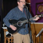 Poul Bech - Playing at the BC Songwriters' Open Mic - BCSongwriters.ca