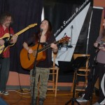 Bob Batyi, Feona Lim & John Haynes at the BC Songwriters' Open Mic - BCSongwriters.ca