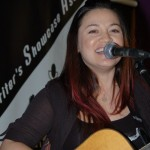 Feona Lim, performing at the BC Songwriters' Open Mic - BCSongwriters.ca