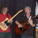 Earl Travis Taylor - (accompanied by Bob Batyi) performing at the BC Songwriters' Two Hour Open Mic - BCSongwriters.ca