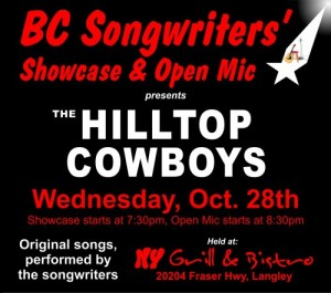 BC Songwriters - The Hilltop Cowboys - BCSongwriters.ca