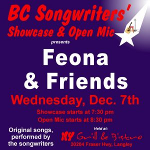 Feona Lim & Friends - BCSSA - BCSongwriters.ca