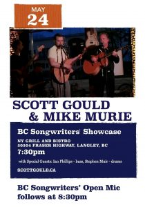 BC Songwriters' Showcase - Scott Gould & Mike Murie - BCSongwriters.ca