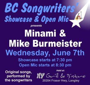 BCS - Minami & Burmeister - BCSongwriters.ca