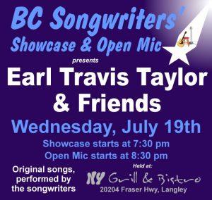 BCS - Earl Travis Taylor & Friends