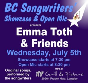 BCS - Emma Toth & Friends