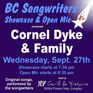 Cornel Dyke & Family - BCSongwriters.ca