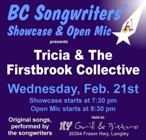 Tricia & The Firstbrook Collective - BCSongwriters.ca