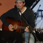 Glen Mager playing BC Songwriters' Open Mic