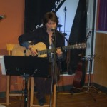 Patricia Dunphy playing BC Songwriters' Open Mic