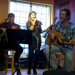 LaRaine introducing Troy Godfrey & Glen Mager - BC Songwriters' Showcase - Langley, BC