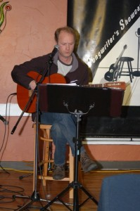 Dave Mercer - Performing at the BC Songwriters' Showcase Open Mic - NY Grill & Bistro, in Langley, BC
