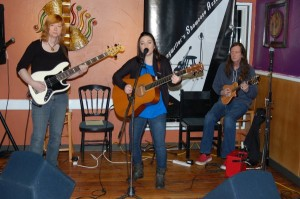 Lotus Band, performing at the BC Songwriters Showcase Association's Songwriter Showcase, in Langley