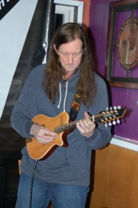 John from Lotus Band, being featured at the BC Songwriters Showcase Association's Songwriter Showcase, in Langley