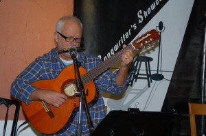 Bruce Rudolph - Performing at the BC Songwriters' Showcase Open Mic