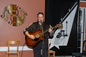 Dan Beer, playing Open Mic at the BC Songwriters' Showcase