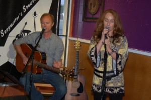 Dave Mercer performing as part of the Two Hour Jam, at BC Songwriters' Showcase & Open Mic