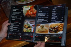A *LOT* of great options to enjoy, at the NY Grill & Bistro, in Langley