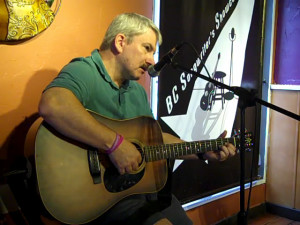 Bob Gray performing as part of the Two Hour Jam — at BC Songwriters' Showcase Association — at NY Grill & Bistro, in Langley.