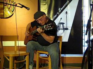 Frank Tacek playing a few of his original instrumental compositions, at the BC Songwriters' Open Mic, in Langley