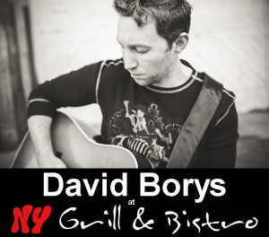 David Borys - performing at the BC Songwriters' Showcase at the NY Grill & Bistro in Langley