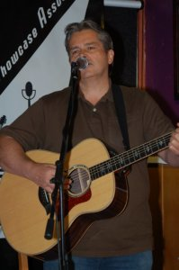 Cornel Dyke kicked off the Open Mic portion of the evening
