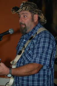 Kenny Buston, playing the BC Songwriters' Showcase